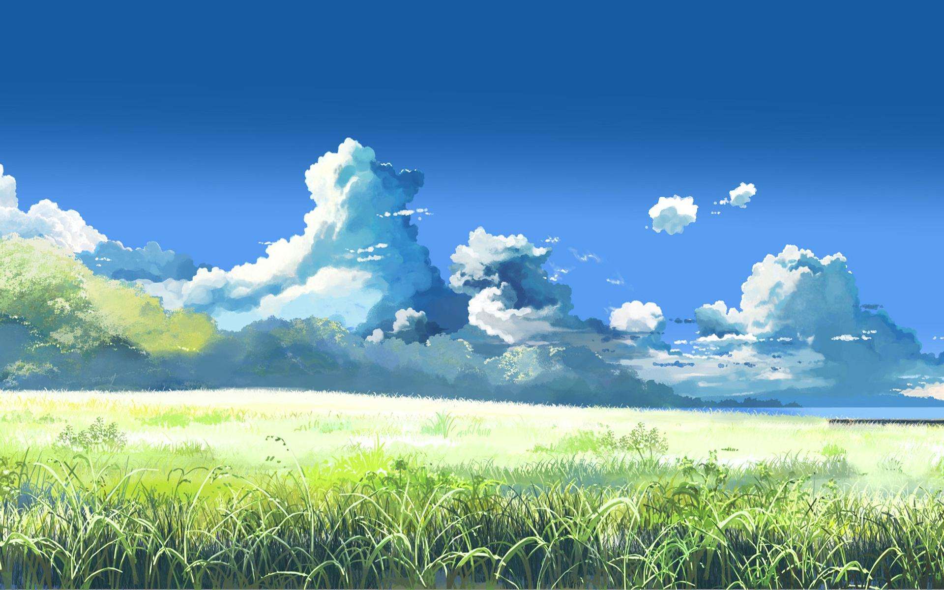 Anime Landscape Wallpaper Zendha