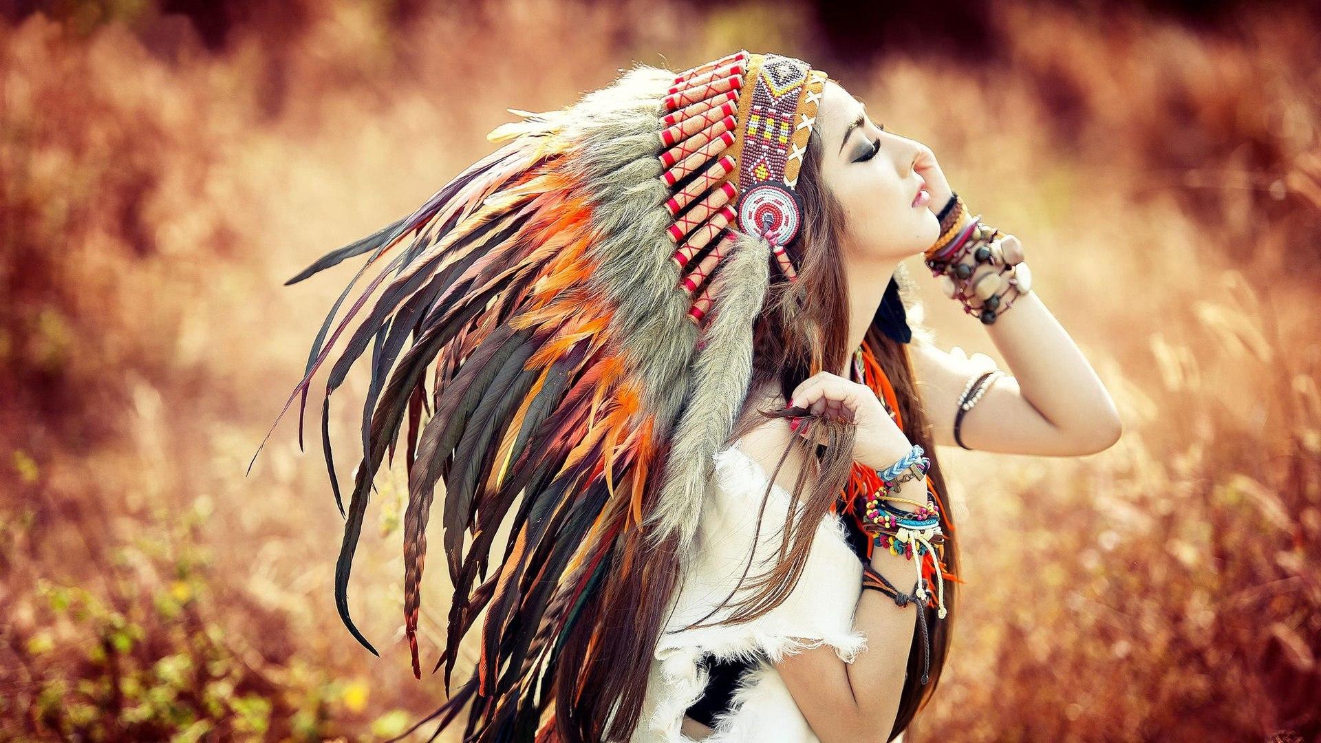native american girl hd