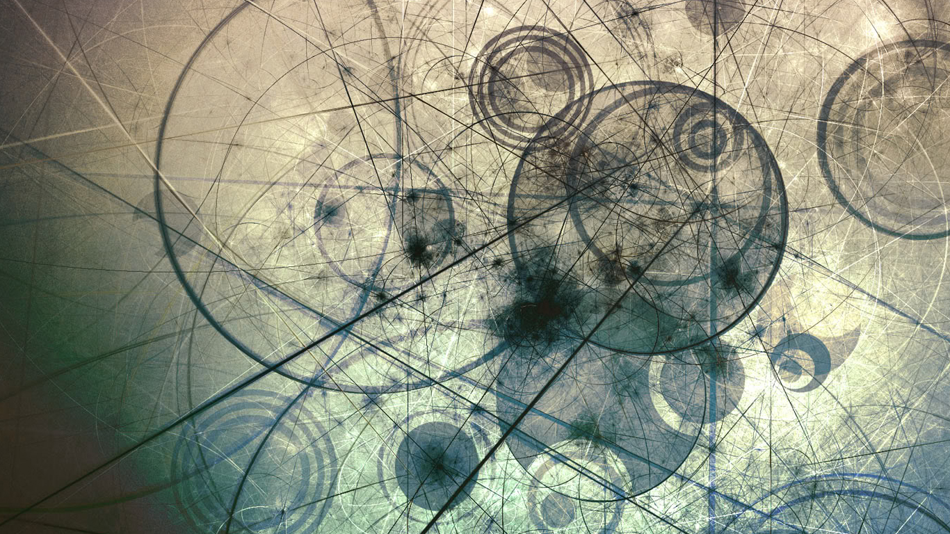 abstract geometry wallpaper 1366x768