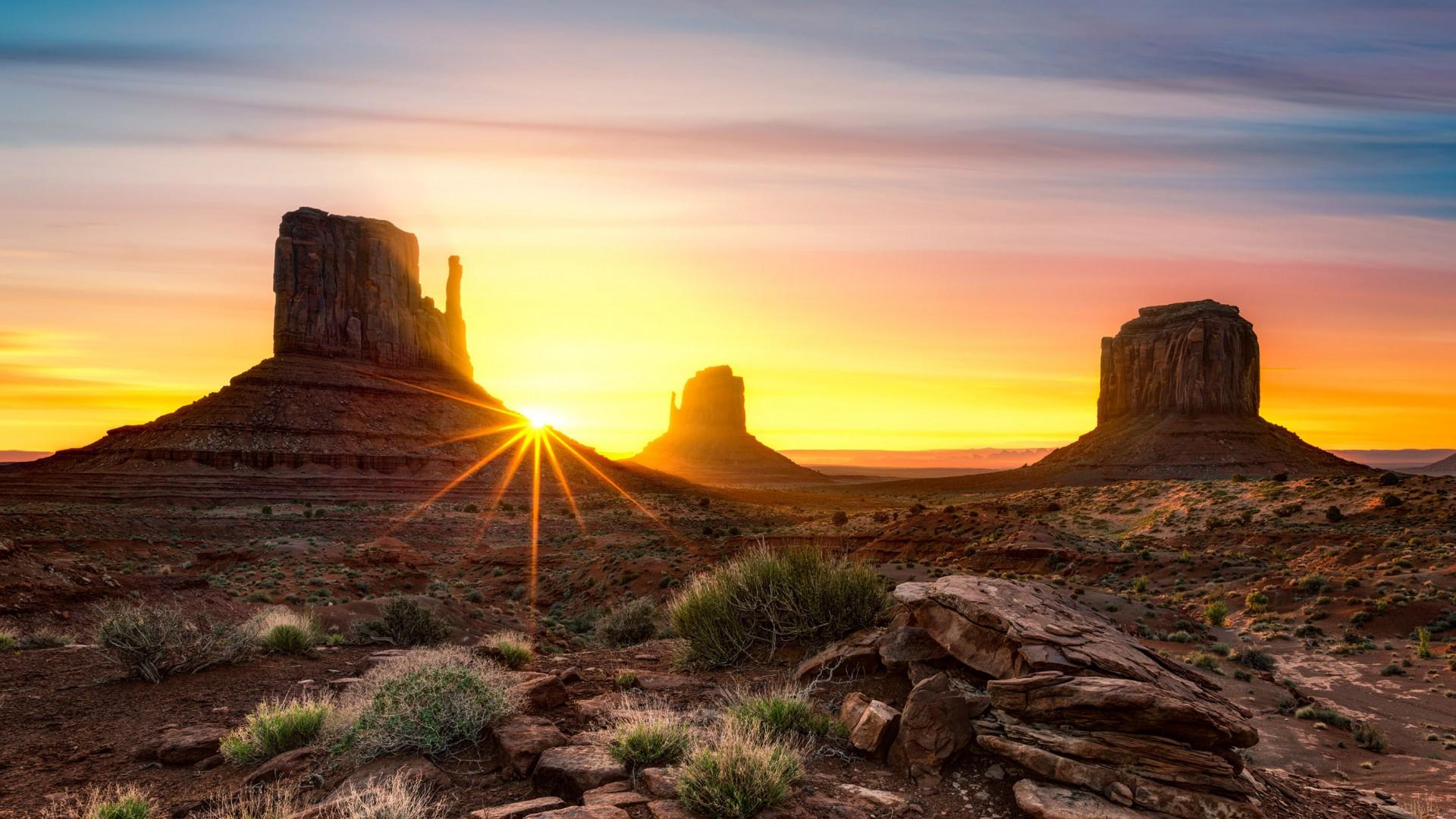 desert landscape hd wallpaper