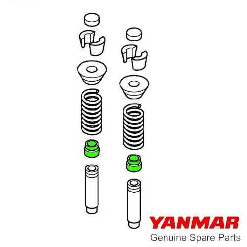 Cinghia alternatore per motori Yanmar 2YM15 / 3YM30 / 3YM30