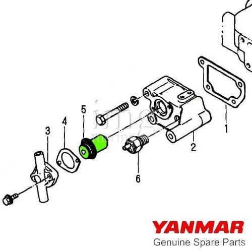 Valvola di aspirazione per motori serie GM Yanmar