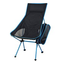 Outdoor Portable Folding Chair with Pillow Ultralight ...