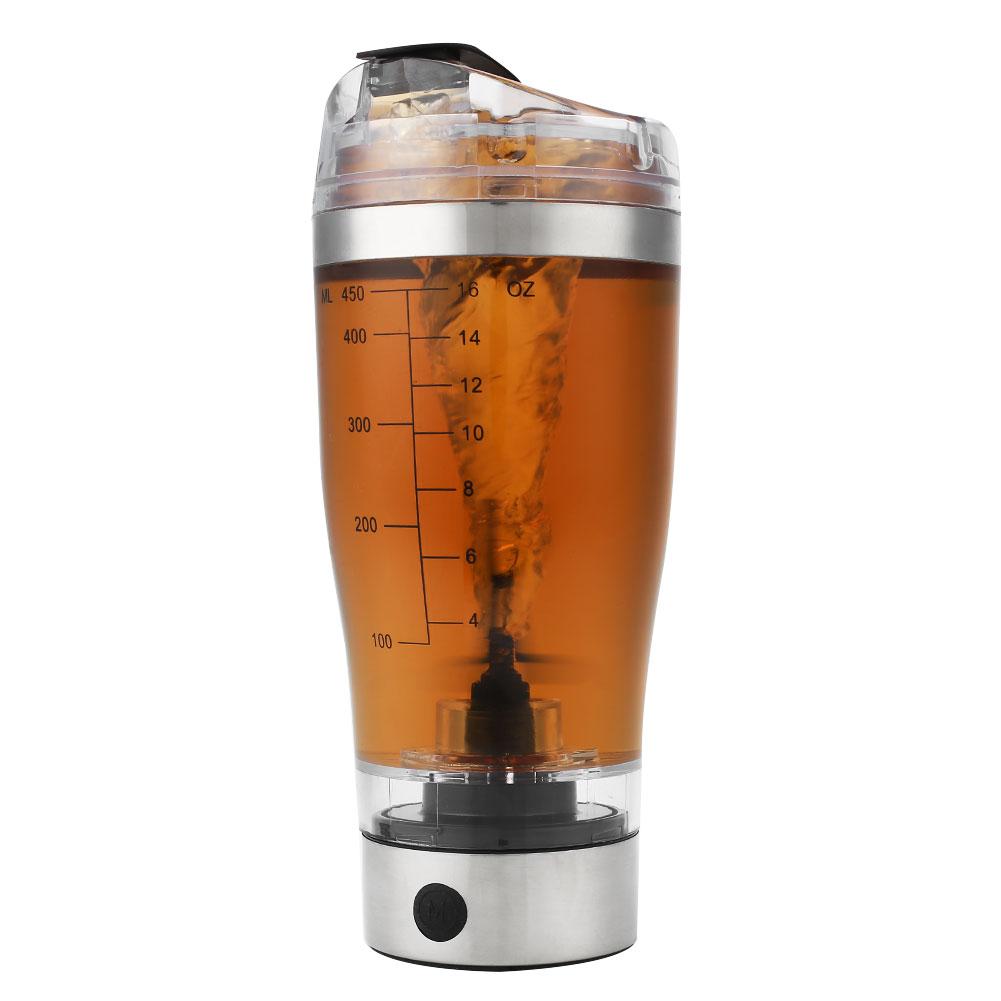 Tornado 18 Oz Portable Drink Mixer Mug Battery Protein