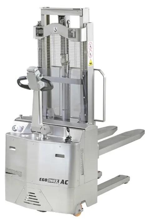 EGO inox - Gerbeur électrique Samag