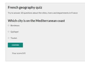 jquery quiz