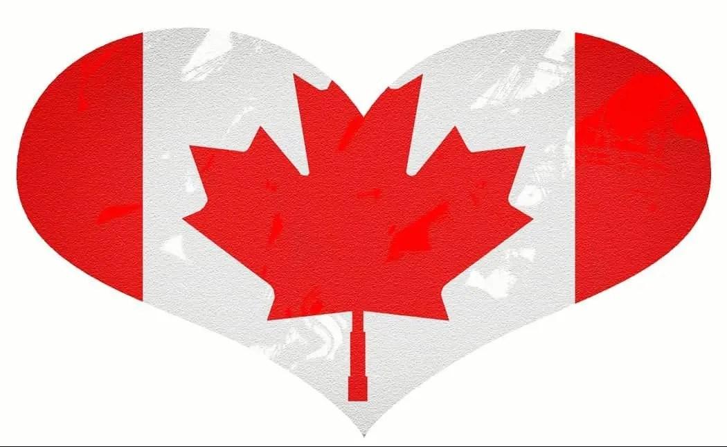 Logo Coração para o Site Imigrar para o Canadá e Quebec
