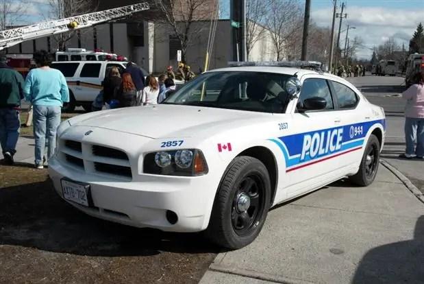 Carro da Polícia canadense