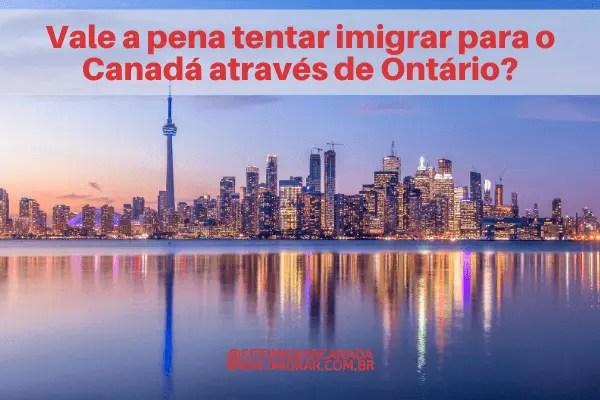 Vale a pena imigrar para Ontário no Canadá?