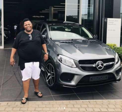 Dladla Mshunqisi Purchases New Mercedes Benz