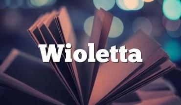 Wioletta