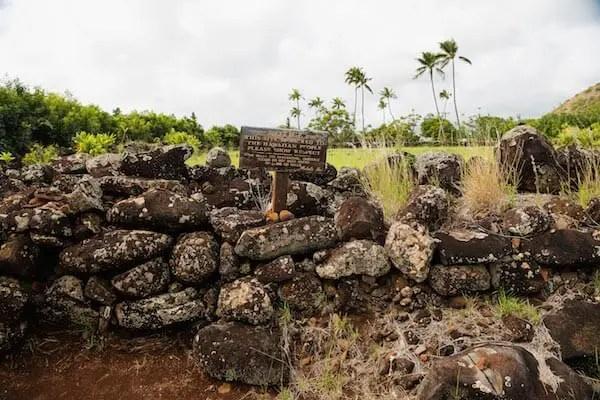 Hawaiian Heiau-Temples