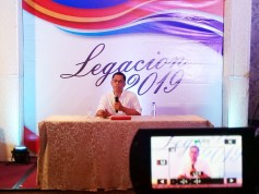 VM Legacion holds press conference, will still run for mayor in 2019