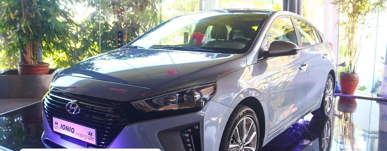 Hyundai Naga Launches Hybrid Ioniq All New Accent And Reina Imj