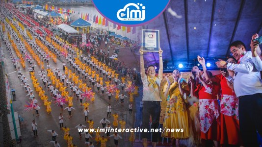Sorsogon sets Guiness World Record for most participants in a Filipino Folk Dance
