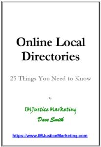 benefits of online directories