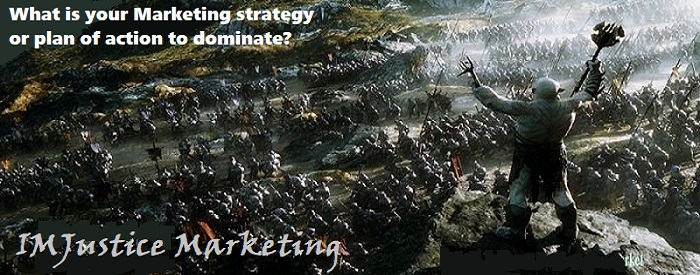 what is your marketing strategy to dominate