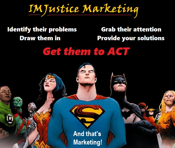 IMJustice Marketing concept and strategy