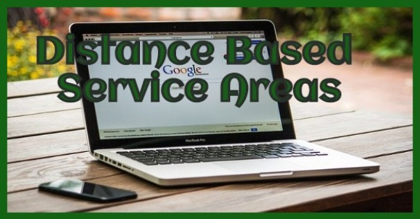 google my business and distance based service areas