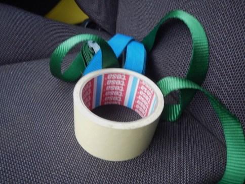Tape en spanbanden