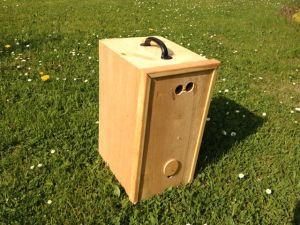 Schwarmkasten_ohne_Bienen für Bienenschwarm
