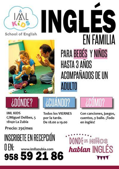 Talleres inglés para niños en guardería