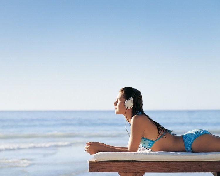 podcasts en inglés para la playa