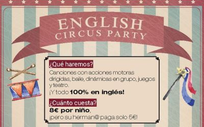 English Circus Party