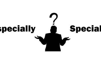 ¿Cúal es la diferencia entre «especially» y «specially» en inglés?