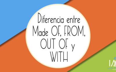 ¿Cuál es la diferencia entre Made From, Made Of, Made Out of, y Made With?
