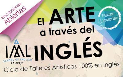 Nuevos talleres artísticos en inglés para niños