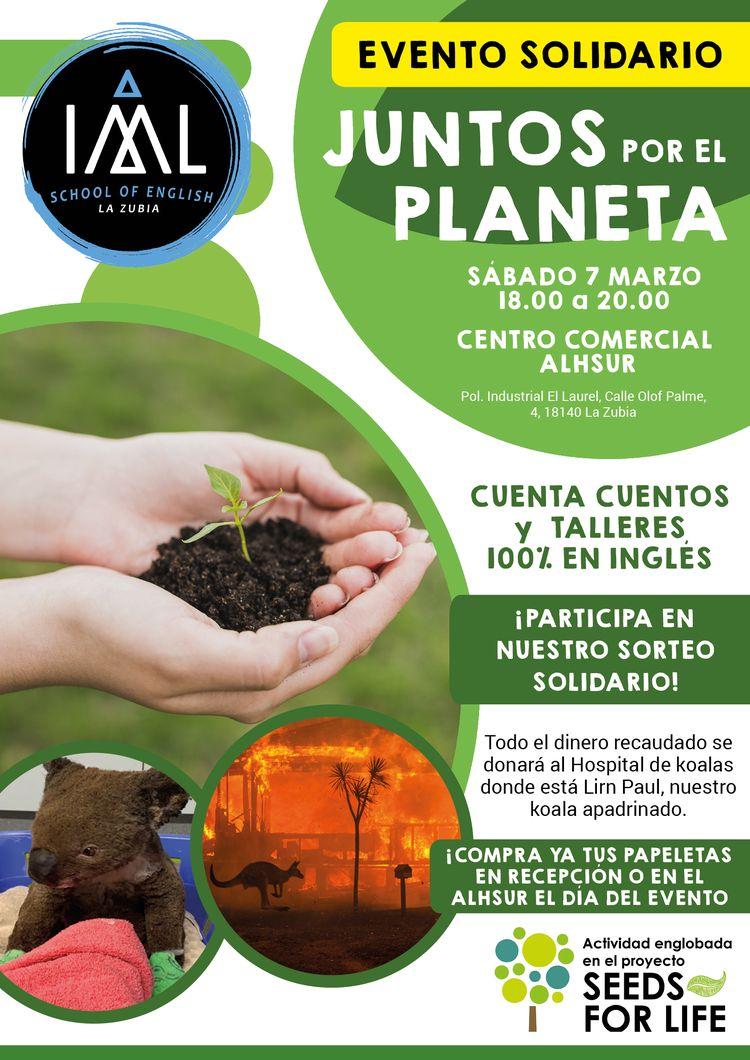 evento solidario Juntos por el Planeta