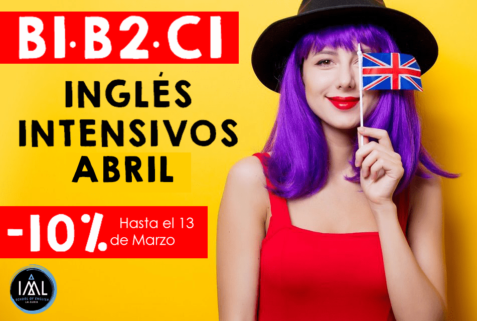 intensivos inglés Granada Abril 2020
