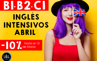 Cursos intensivos de inglés en Granada (La Zubia) en Abril 2020