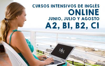Cursos intensivos de inglés online en verano. ¡Todos los niveles!