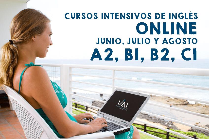 cursos intensivos de inglés online en verano