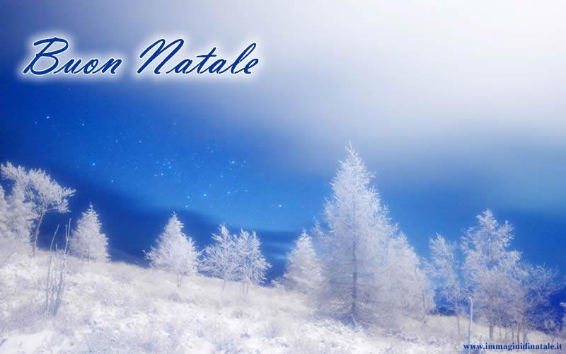 Immagine Paesaggio di Natale Immagine di Natale Paesaggio