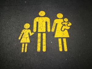 children family parking lot immanuel lutheran church joplin missouri