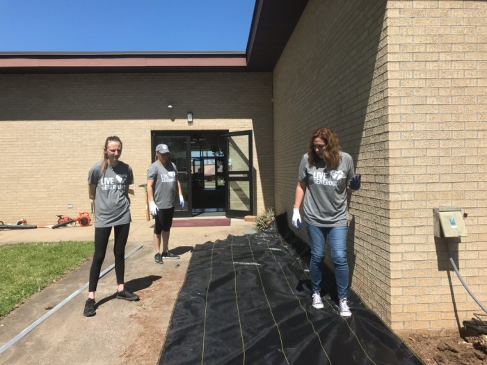 Memorial Garden Youth Project 1