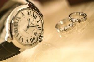 Keeping Promises. Watch and wedding rings. Advent Devotion from Immanuel Lutheran Church in Joplin, Missouri.