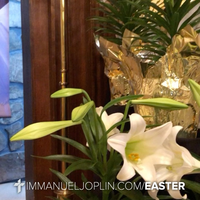Easter at Immanuel 12