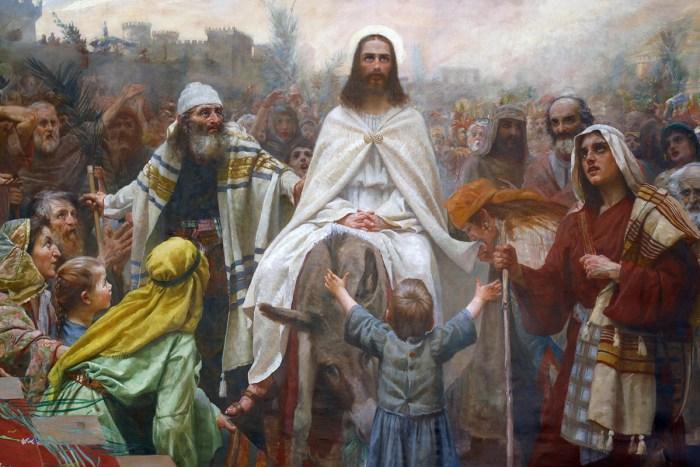 The Humble King, Jesus' Triumphal Entry into Jerusalem. Sermon by Rev. Gregory Mech. Immanuel Lutheran Church LCMS. Joplin, Missouri. Palm Sunday.