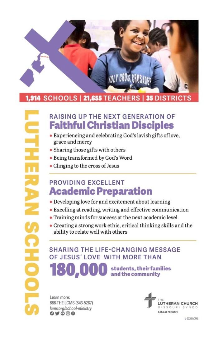 lutheran schools week 2021 bulletin insert