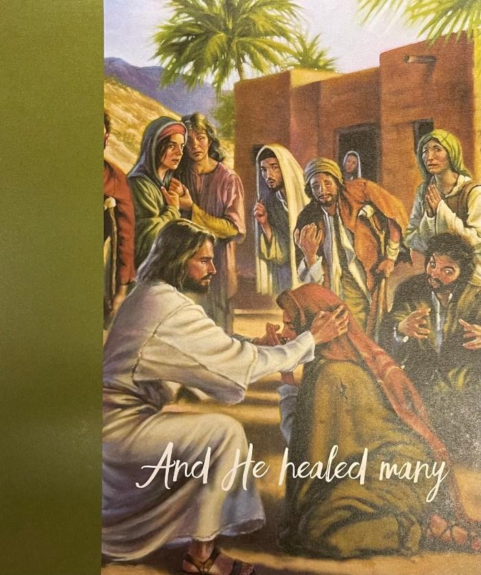 Epiphany 5 bulletin cover. and he healed many. Immanuel Lutheran Church LCMS. Joplin Missouri.