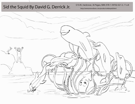 Immedium: Products: Sid the Squid and the Search for the