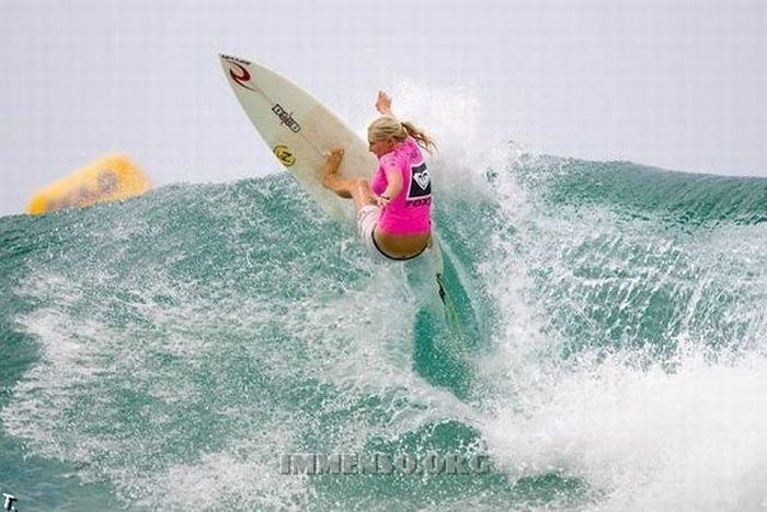 Foto di ragazze che fanno surf