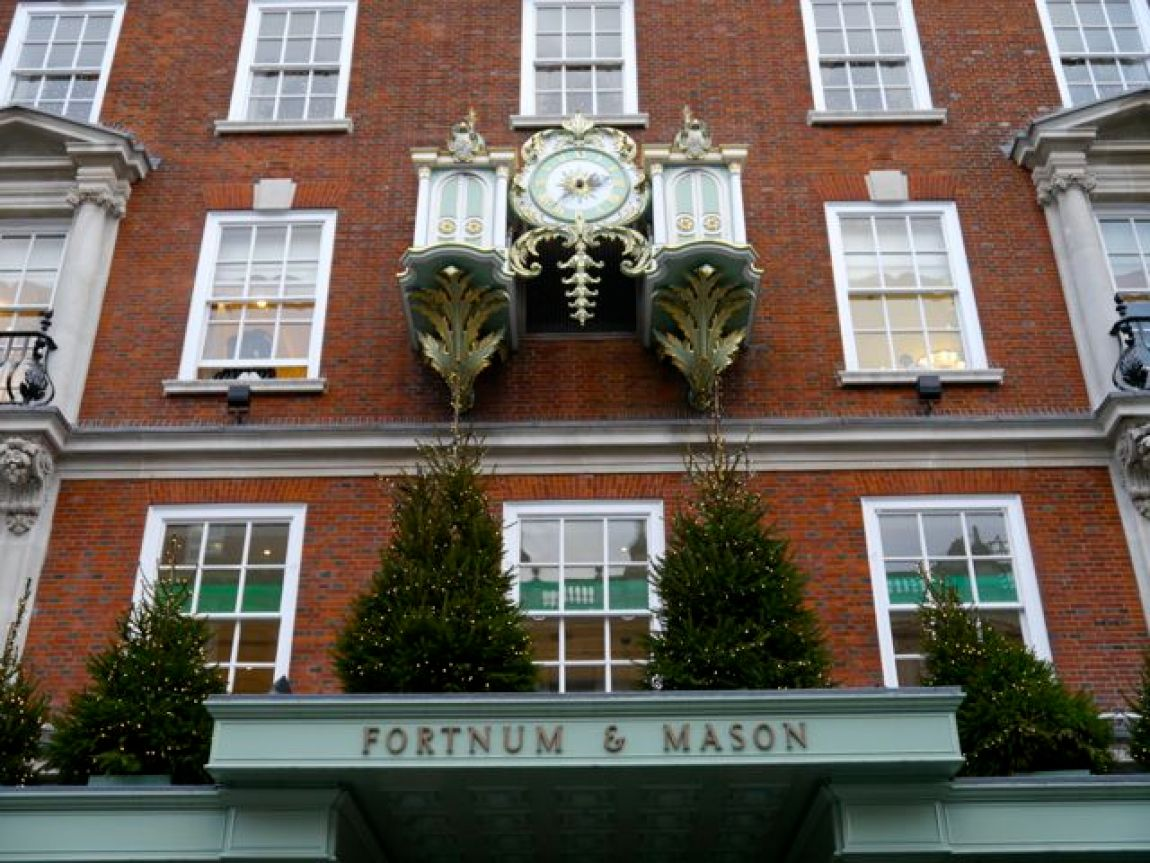 Shopping Tipp Fortnum and Mason in der Weihnachtszeit in London