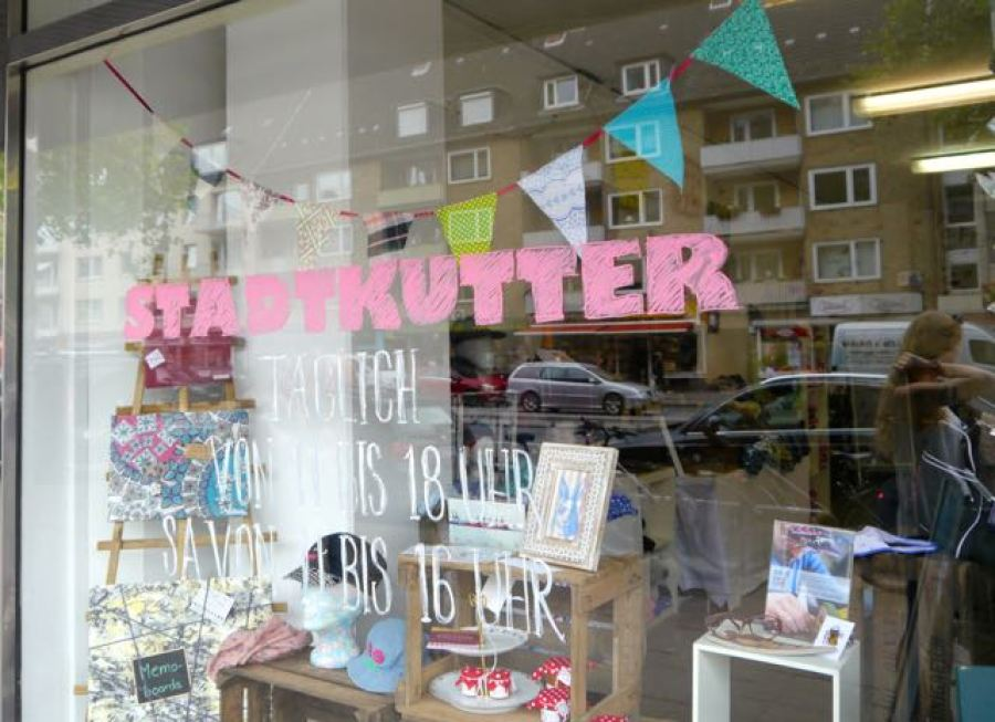 Pop-up Store Stadtkutter in Hamburg Grindelallee1