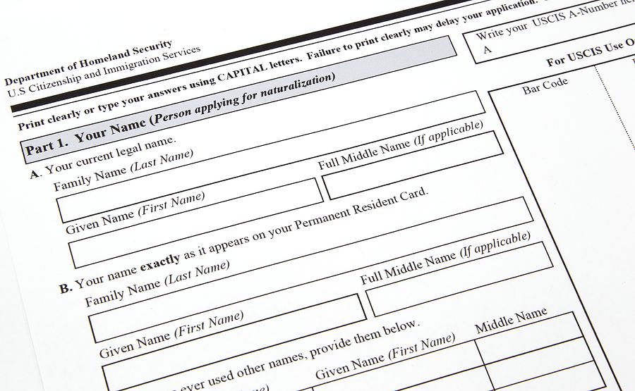 USCIS Revises Naturalization Application Form