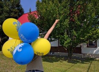 Ballons Fête du Québec